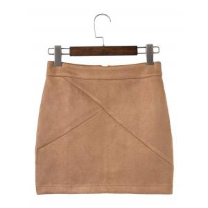Mini Deerskin Bodycon Jupes