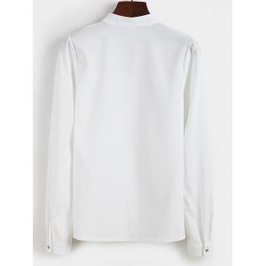 Fitted Pullover Shirt - OFF WHITE 2XL