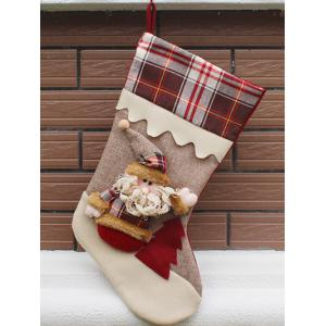 Santa Claus Hanging Candy Present Sock Party Decoration - Colormix