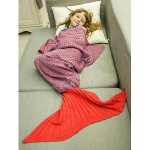Comfortable Sleeping Bag Kids Wrap Sofa Mermaid Blanket