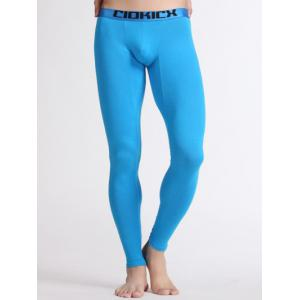 Breathable U Convex Pouch Warmth Long Pants -
