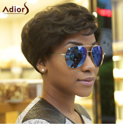 Latest Adiors Synthetic Fluffy Curly Short Layered Wigs BLACK