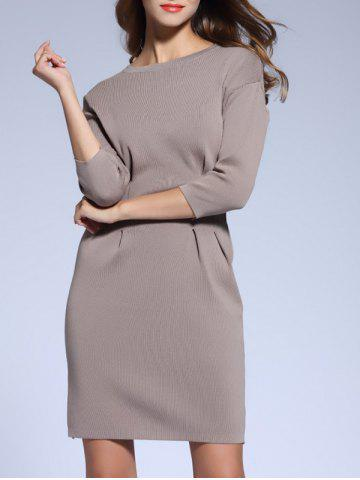 Best Ruched Knitted Dress