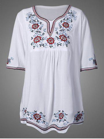 Online Embroidered Bib Dress