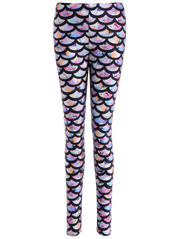 Best Colorful Scale Print Leggings