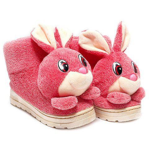 Affordable High Top Cartoon Rabbit House Slippers