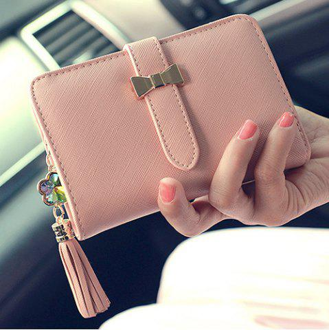 Best Strap Tassels Short Wallet