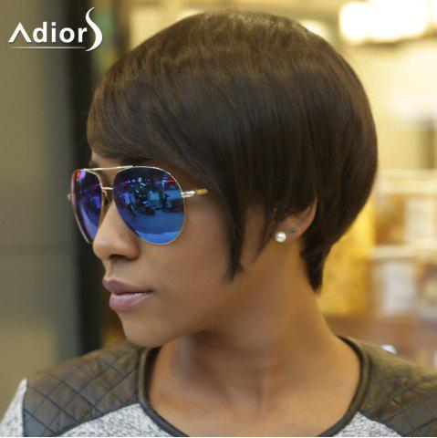 Chic Adiors Spiffy Short Fluffy Side Bang Synthetic Hair Wig