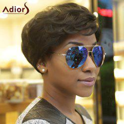 Adiors Synthetic Fluffy Curly Short Layered Wigs
