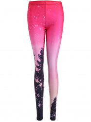 Stretch Tree Print Leggings