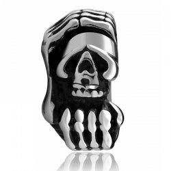 Vintage Devil Claws Skull Ring -