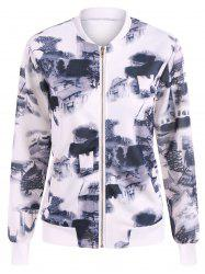 Chinese Painting Zip Up Jacket -