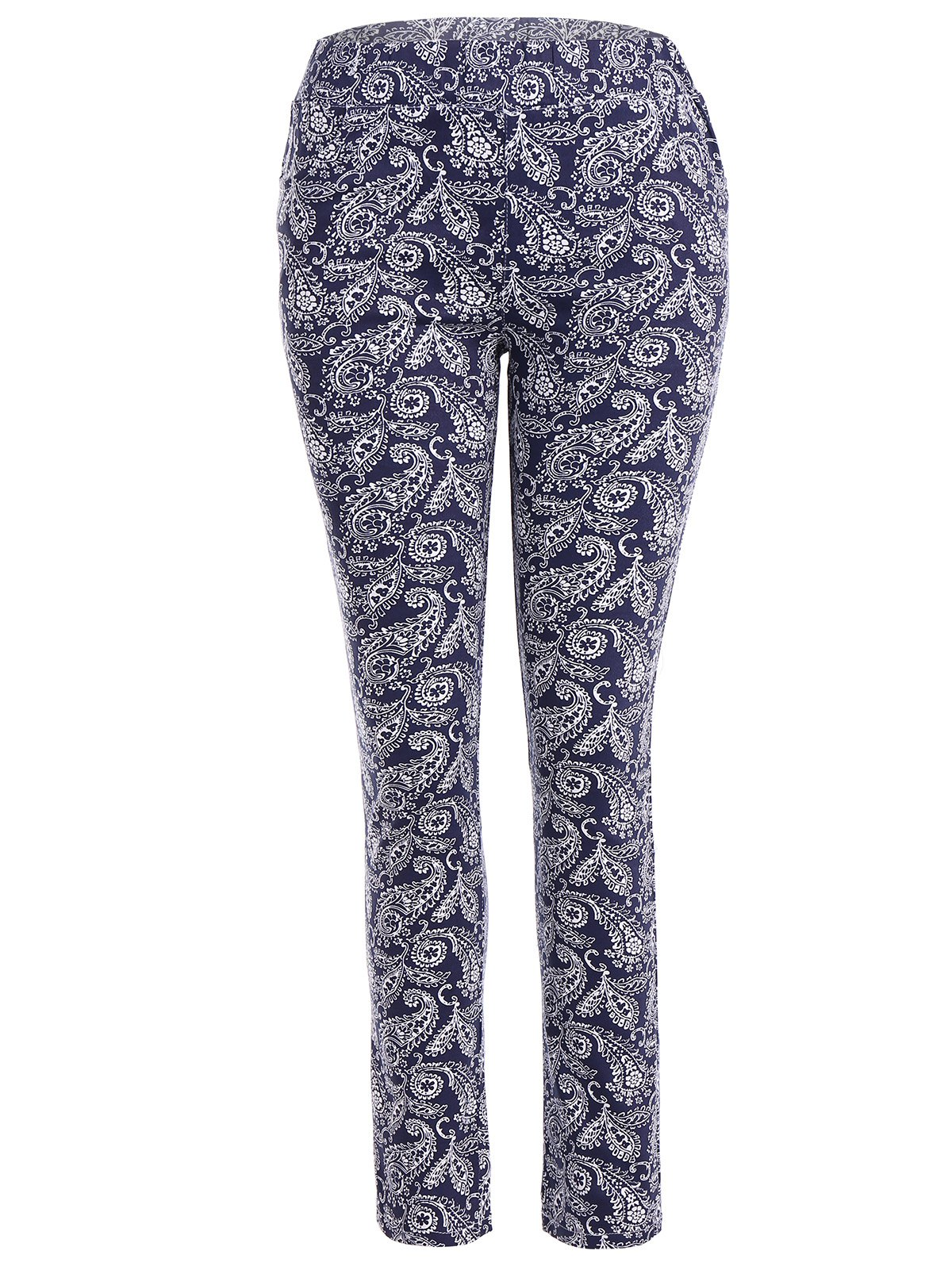 Online Skinny Flower Print Leggings