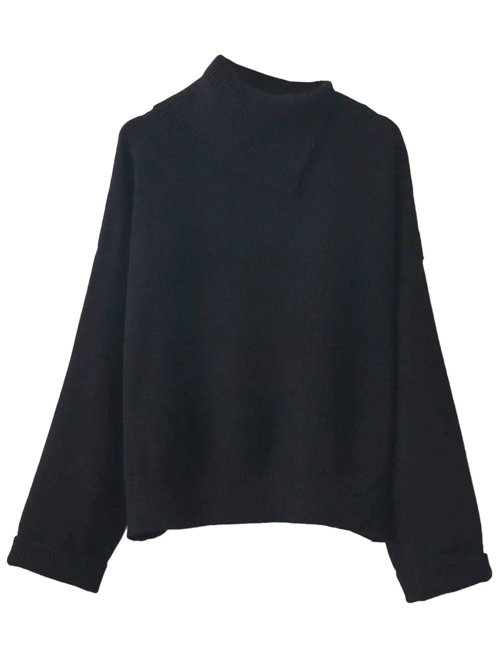 Fashion Asymmetric Neck Sweater
