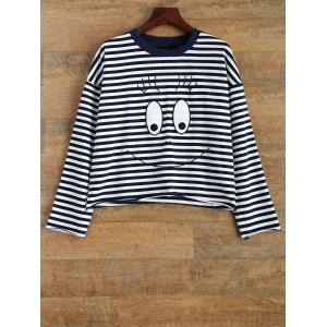 Cartoon Striped T-Shirt
