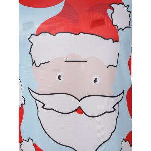 Santa Claus Christmas Dress - AZURE XL