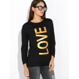 Crew Neck Love Sweatshirt -