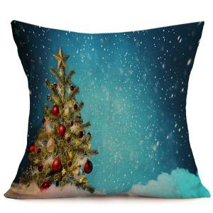 Sofa Cushion Throw Christmas Tree Pillow Cover