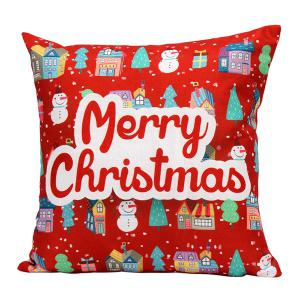 Merry Christmas Series Printed Pillow Case