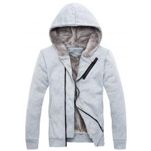 Zipper Agrémentée Color Block Hoodie Twinset -