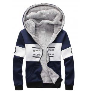 Zip Up Graphic Printed Hoodie Twinset -
