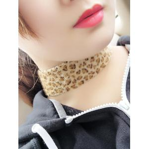 Artificial Leather Velvet Leopard Print Choker