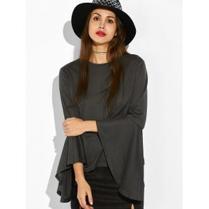 Bell Sleeve Fitted T-Shirt -