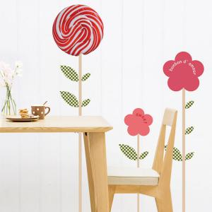 Lollipop Removeable Wall Sticker -