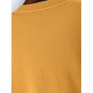 Arygle Pattern Knitted Sweater -