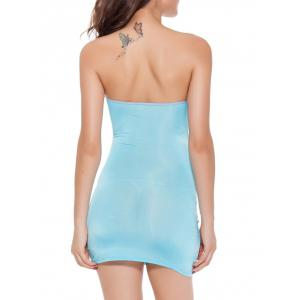 Hollow Out Club Tube Bandage Bodycon Dress -