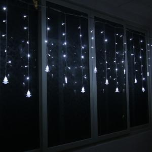 Christmas Tree Pendant LED String Light Indoor Decoration Supplies - WHITE