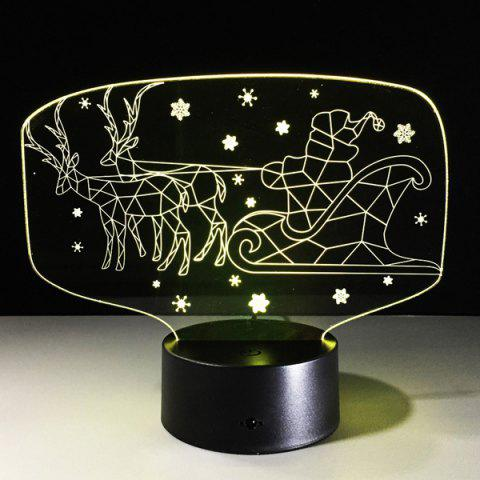 Best Colorful 3D Illusion LED Kids Room Christmas Night Light - COLORFUL  Mobile