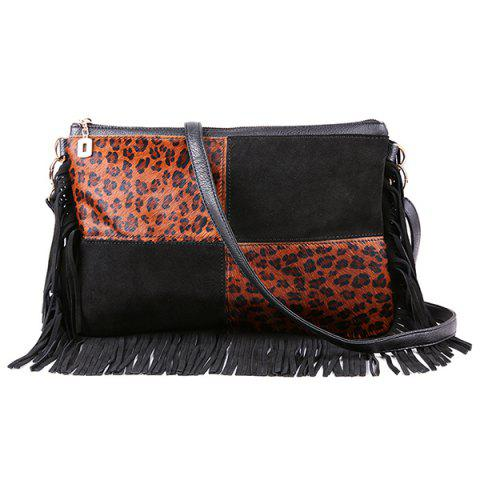 Discount Fringe Suede Crossbody Bag