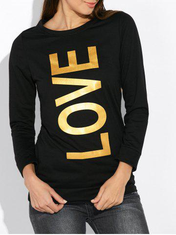 Shops Crew Neck Love Sweatshirt