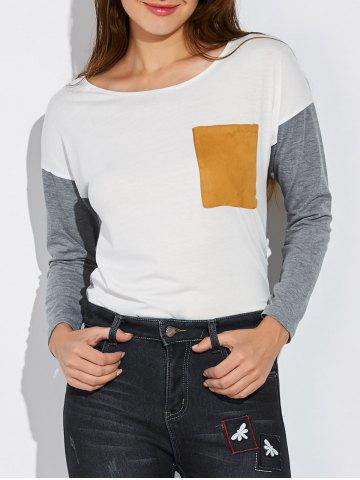 Outfit Pocket Drop Shoulder Tee