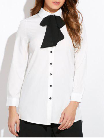 Buy Pussy Bow Neck Shirt
