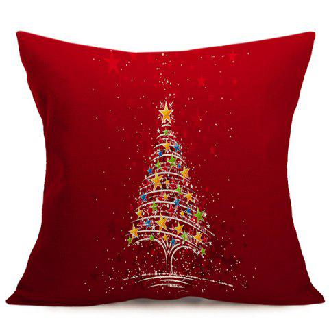 Outfits Christmas Tree Star Sofa Cushion Throw Pillow Case