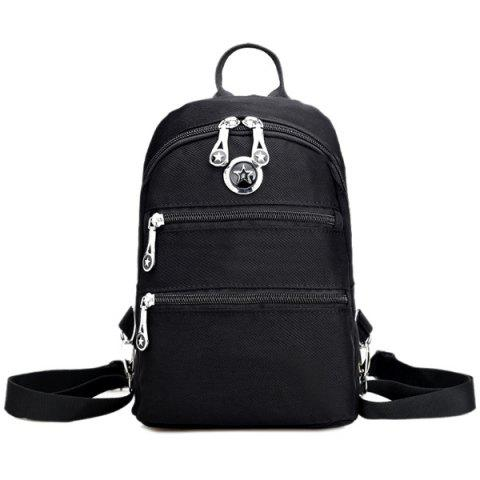 Online Zip Nylon Metal Backpack