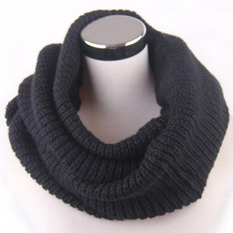 Unique Winter Loose Turtleneck Knitted Twisted Infinity Scarf