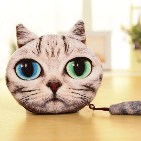 Trendy Cat Coin Purse - APRICOT  Mobile