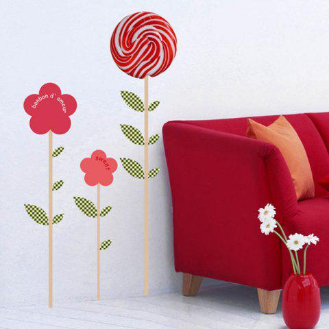 Hot Lollipop Removeable Wall Sticker