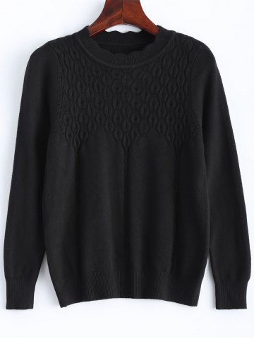 Online Preppy Style Knitted Pullover Sweater