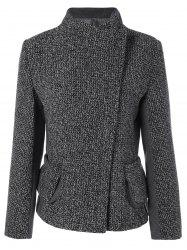 Slim Fit Tween Jacket - DEEP GRAY