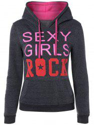 Sexy Girls Rock Drawstring Hoodie