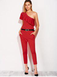 Capri One Shoulder Jumpsuit -
