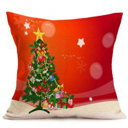 Christmas Tree Sofa Cushion Throw Pillow Case