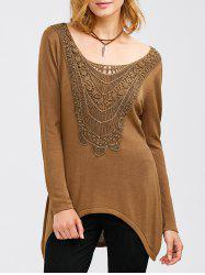 Crochet Tunic T-Shirt