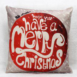 Sofa Merry Christmas Pillow Case