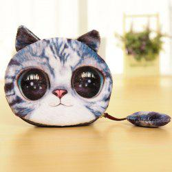 Cat Coin Purse - BLUE GRAY