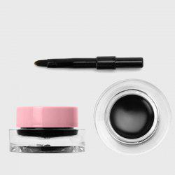 Long Wear Waterproof Gel Eyeliner with Brush -